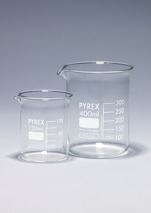 Notice: PYREX Lab Glassware Maximum Usage Temperatures